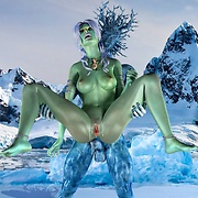 Fantasy sex in the land of ice